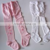 Baby knitted cotton cute lacing tights