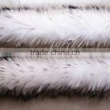 BBG-H-7 Wholesale Real Colorful Raccoon Fur Trim for Women's Shoes&Boots Welt with Factory Price