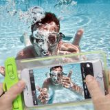Eco-Friendly TPU Waterproof Dry Pouch Floating Waterproof Case iPhone Dry bag with Air-Filled Frame Function