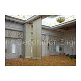 Veneer Gypsum Acoustic Folding Partitions , Accordion Folding Partitions For Restaurant
