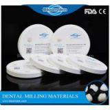 Dental zirconia block, CAD/CAM system compatible zirconia disc