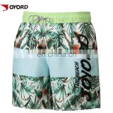 2017 factory OEM sublimation printing mens swimwear/beach/board shorts