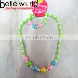 pearl plastic baby girls necklace