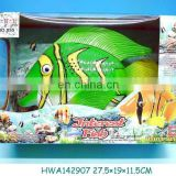 2012 hottes battery operated action fish with music & light