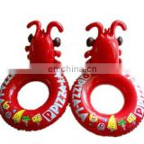 2012 new fashion inflatable swimming ring