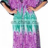 Fashgion World Wholesale Long Womens Swimsuit Kaftan Dress Adjustable Waist Beach Pool Lounge Wear