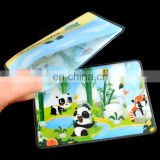 Customized advertising hard plastic pvc credit card holders