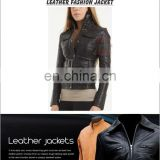 Cowhide/ Sheepskin/ Napa/ Goatskin Leather Jacket, Leather Jacket, HLI-fine quality leather jacket