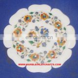 Beautiful Marble Inlay Decorative Plate Manufacture