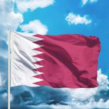 2020 Euro Cup products,Qatar Flag,national flag3'*5',flag with two brass gromments