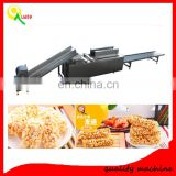 Chocolate Cereal Bar Production Line / Candy Bar Making Machine / Puffed Rice Bar Production Line