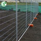 ISO factory cheap Canada standard 60*150mm crowd barrier construction site temporary fence price