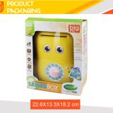 New arrival safe storage mini atm saving plastic kids money box