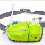 Hiking Waist Pack, Outdoor Water Resistant Waist Bag with Water Bottle (Not Included) Holder, Running Belt Bag Pouch Fanny Pack