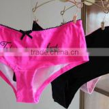 We Have Stocks For Plump Ladies Various Colors Soft Cotton Underwear Briefs Panties SizeXS-M 200pcs/Lot