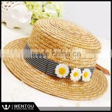 Wholesale Sunhat Genuine Vintage Toquilla Panama hat Boater
