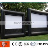 100% air-sealed Popular gemmy inflatable movie theater screen , inflatable projection screen for outdoor / indoor                                                                         Quality Choice