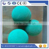 Advanced equipment produce Dn125 concrete pump spponge rubber cleaning ball