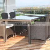 Famous design dining furniture wicker picnic table rattan wholesale picnic table