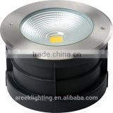 High Quality IP67 outdoor stainless steel underground light 30w led cob underground light with ce