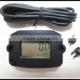 LCD Digital Inductive Hour Meter Record MAX RPM Tachometer for Jet ski,Motorcycle,Snowmobile,lawn mower,aerators