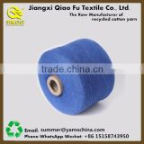 High tenacity open end cotton knitting dyed yarn,cotton polyester blended yarn