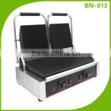 Stainless Steel Panini Press Sanwich Maker,Electric Contact Grill BN-813(CE Approval)