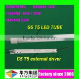 High quality 110lm/w CRI>80 LM80 led xxx animal tube 600mm t5 led tube www xxx com with CE RoHS UL DLC approved