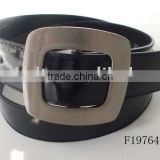 wide alloy buckles black Newest Leather Unique Mens Luxury Belts