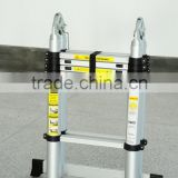 Aluminium Telescopic ladder step ladder,Adjustable ladder, EN131 approved
