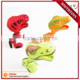 Promotion Big Head Dinosaur Moving Mouth Action Toys Pull The Trigger to Bite