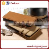 2015 custom design soft feel for vivo y28/y928 flip mobile phone cover case