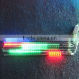 Christmas name light and zhongshan factory led meteor tube light for building decoration