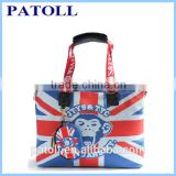 2014 hot canvas tote bag rope handle