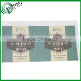 Moringa seeds private label, self adhesive stickers for organic food