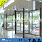 automatic revolving door buy direct from china with good price tempered glass aluminium profile
