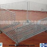 Metal collapsible storage stacking tyre rack or cage
