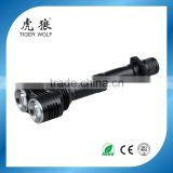 High power aluminum police torch light aluminum led flashlight