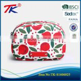 Korea fashion large capacity waterproof cute lady cosmetic handbags small square travel cosmetic bag                                                                                                         Supplier's Choice