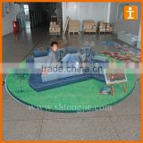 Custom Good Quality Full Colour Print Anti Slip Scratch Resistant 3D Floor Decals                                                                         Quality Choice
