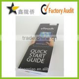 14 years factory customized design full pantone color printing leaflet&poster&flyer