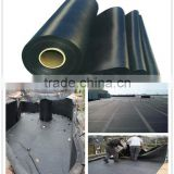 black epdm roofing rubber waterproof materials /epdm fish pond liner