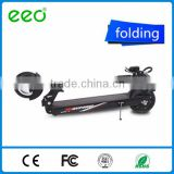 350watt 36v 8inch tire lithium battery foldable frashless power motor 2 wheels e-scooter motor bike electric