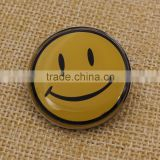 Promotion Gifts Custom Metal Smiley Face Badges