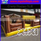 Hot sale inflatable bouncy mattress for rodeo bull, inflatable cushion for mechanical bull