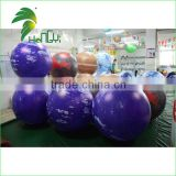 Customized High Quality Inflatable Solar Lighting Planet Spheres Balloon / Inflatable Planets With Best Price