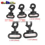 Plastic Swivel Snap Hooks for Luggage Backpack Straps Accessories #FLC425-20B/25B/30B/35B/38B