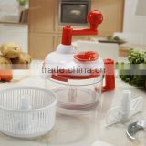 7 in 1 multi-function manual food processor /manual food chopper /manual food mixing machine