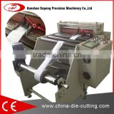 printed Wax paper roll sheet cutting machine