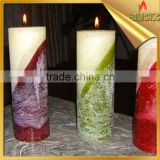 Handmade Candle pillar candle for decoractive birthday party wedding candle gift for friends